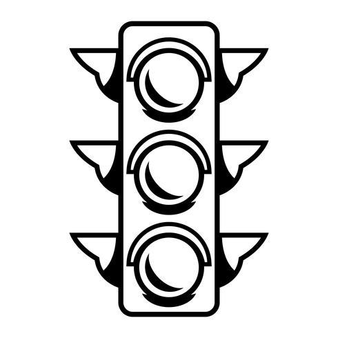 Trafikljus vektor