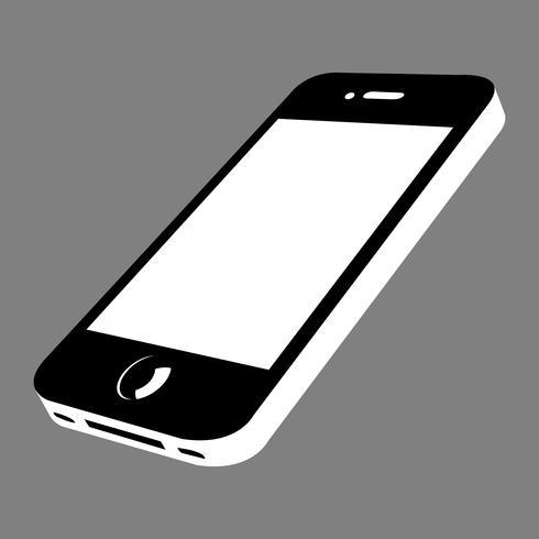 Smartphone-Vektor-Symbol vektor