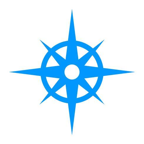 navigeringskompass vektor