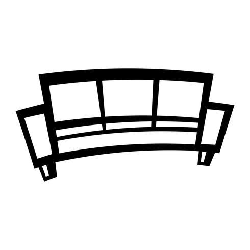 Säckvektorns ikon vektor