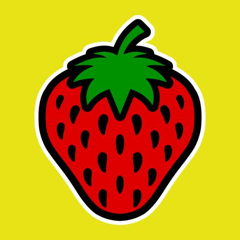 jordgubbe vektor