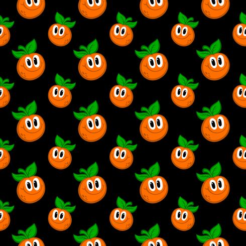 Orange frukt illustration vektor