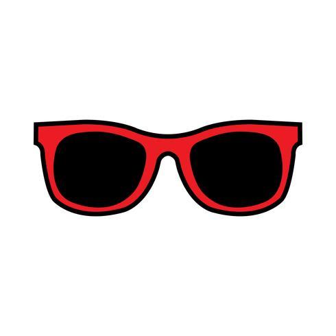 Cool Solglasögon Ögonramar vektorikonen vektor