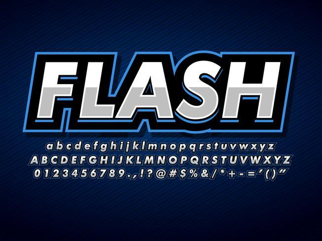 Moderne berufliche blaue Sport-Logo-Schablone vektor