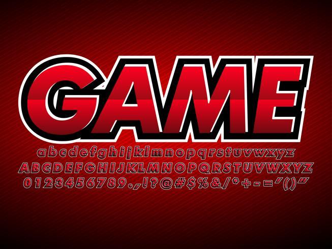 Red E Sport Gaming Team-Logo vektor