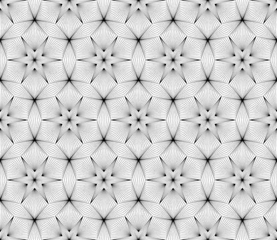 Abstrakt geometrisk sömlös bakgrund på vektor grafisk konst.