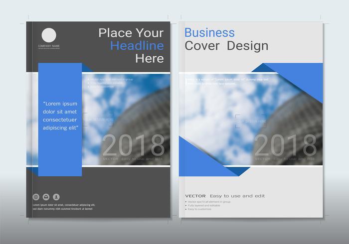 Abdeckungsdesign mit Raum für Fotohintergrund. vektor