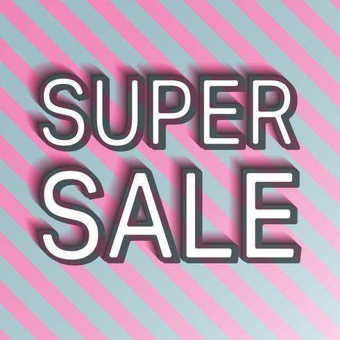 Super Sale Banner vektor
