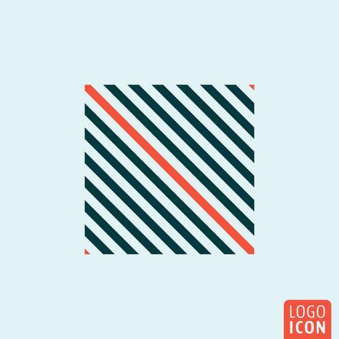 sömlös linjeikon vektor