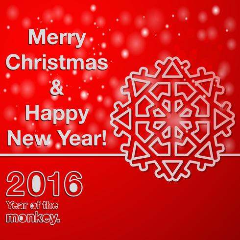 God jul nytt år vektor