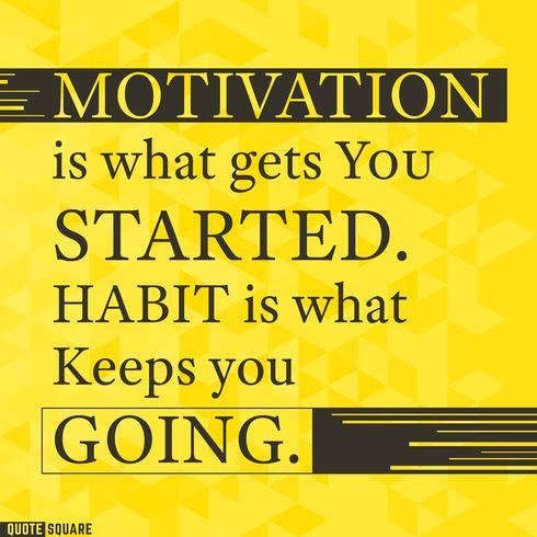 Motivering vektor