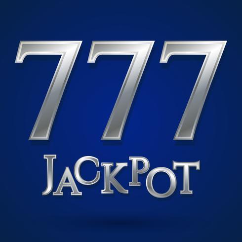 Casino-Jackpot-Symbol vektor