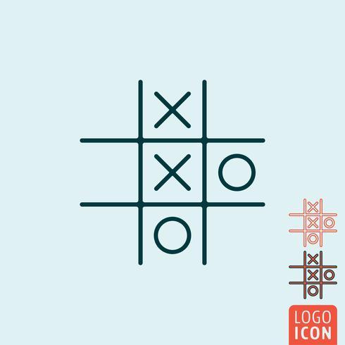 Spiel-Symbol isoliert vektor