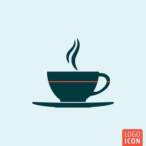 Cup-Symbol isoliert vektor