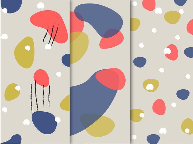 Abstraktes buntes Muster vektor