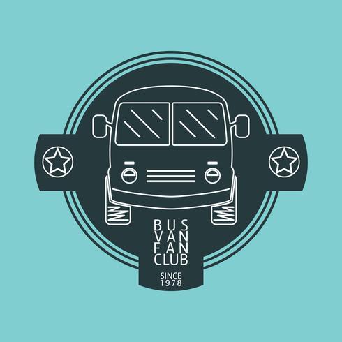 bussbil logo vektor