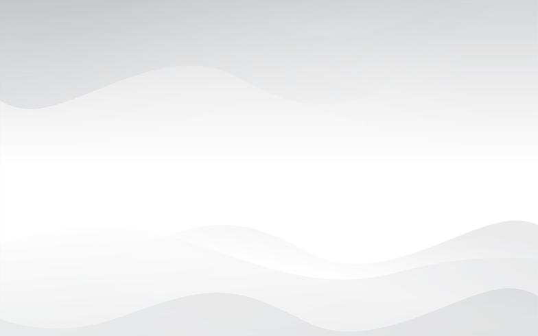 Weißer abstrakter Hintergrundvektor. Grau abstrakt. Hintergrund des modernen Designs für Berichts- und Projektpräsentationsschablone. Vektor-Illustration Grafik. Futuristische und kreisförmige Kurvenform vektor