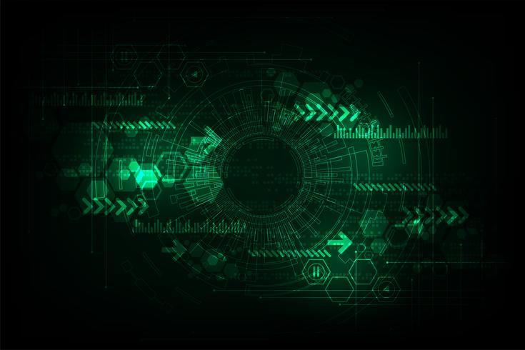 Vektor abstrakt bakgrundsteknik koncept.