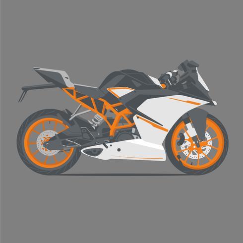 Sportfahrrad KTM vektor