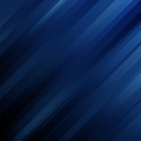 Geometrische diagonale Linien der abstrakten futuristischen Schablone auf dunkelblauem Hintergrund. vektor