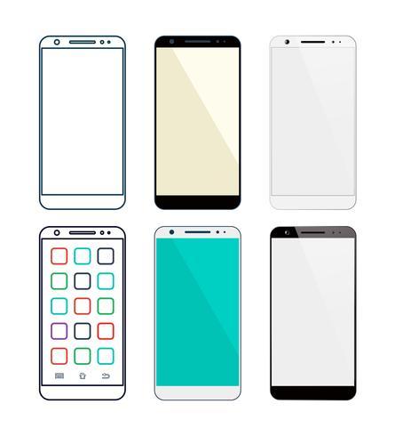 Smartphone vektor