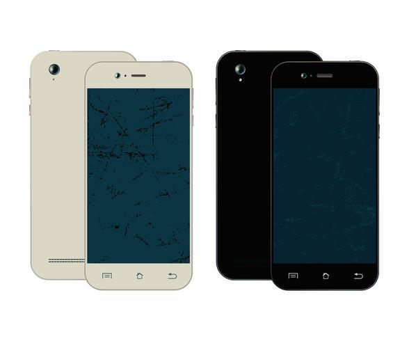Smartphone-Design vektor