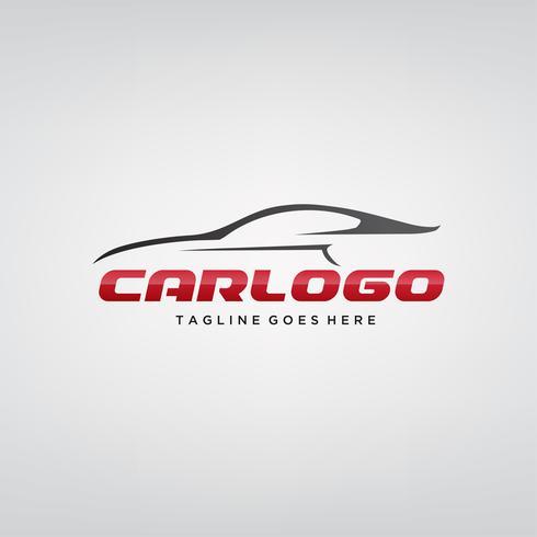 Elegantes Auto-Logo-Design vektor