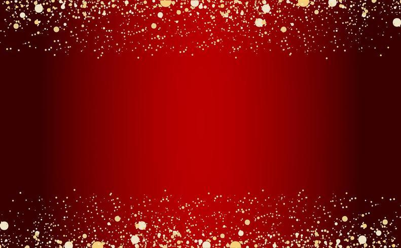vattenfall golden glitter sparkle-bubblar champagne partiklar stjärnor svart bakgrund gott nytt år semester koncept. vektor