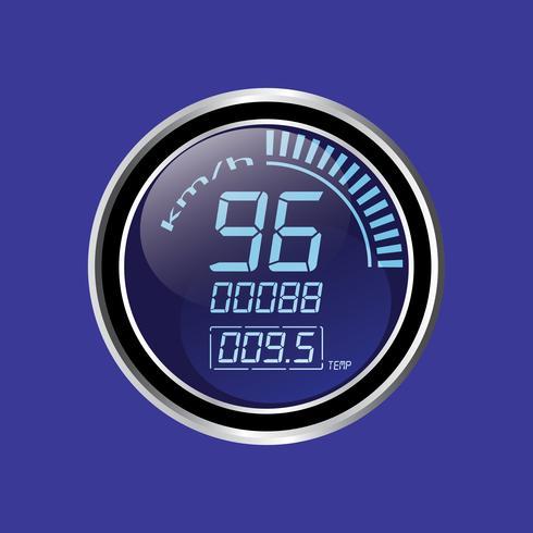 Tachometer vektor