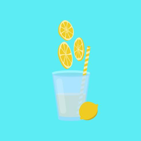 Citronsaft vektor