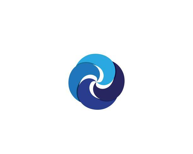 Vortex Logo und Symbol Vektor
