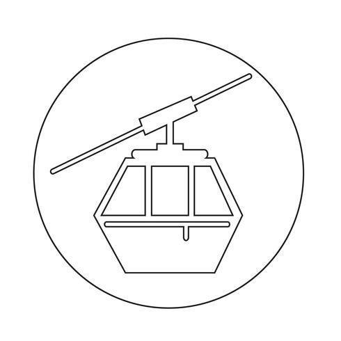 kabelikon vektor