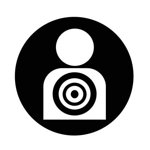 "Symbol ""Zielgruppe"" vektor"