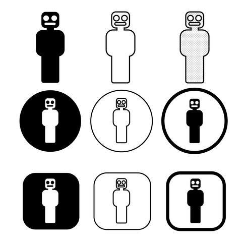 Ange tecken på Människors ikon vektor