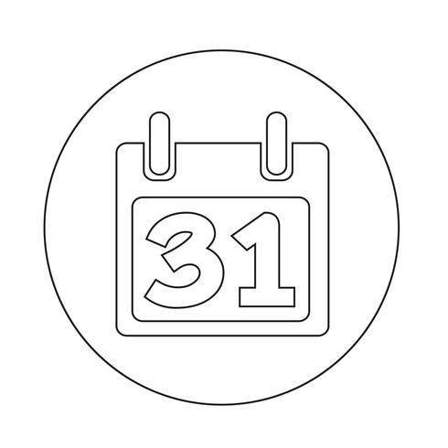 Kalender Ikon vektor