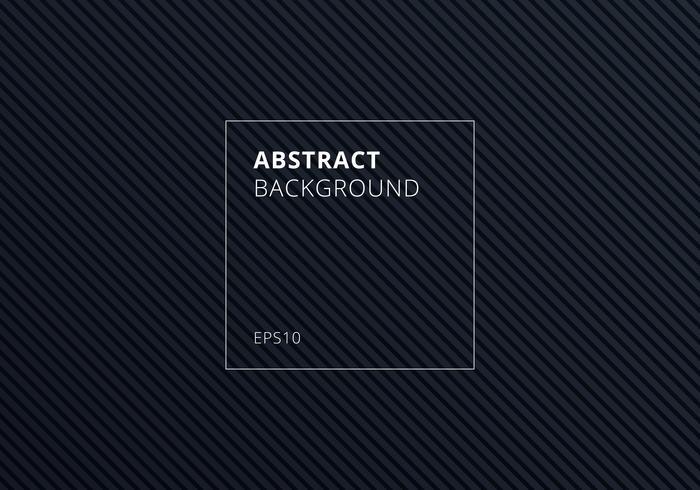 Abstrakta randiga linjer diagonal mönster på svart bakgrund och textur. vektor