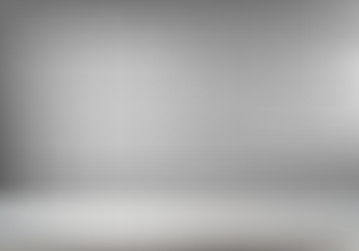 Abstrakter grauer Rauminnenhintergrund oder -tapete für Produktanzeige. Leerer Studiofotoshootinghintergrund für Ihr Werbedesign. vektor