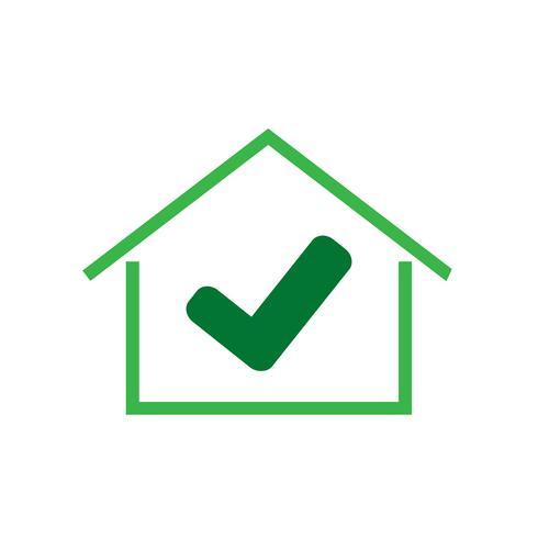 Home-Symbol einfaches Symbol vektor