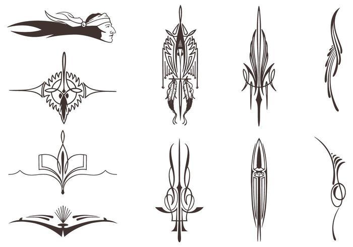 Ureinwohner Vector Elements Pack