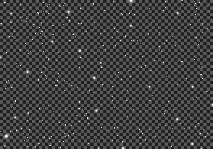 Raum mit Sternenuniversum-Raumunendlichkeit und Sternenlicht auf transparentem Hintergrund. Galaxie und Planeten des sternenklaren nächtlichen Himmels im Kosmosmuster. vektor