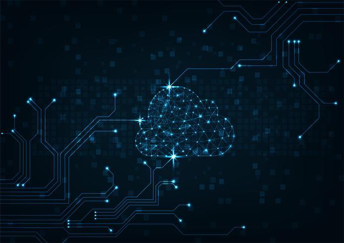 Cloud-Konzept vektor