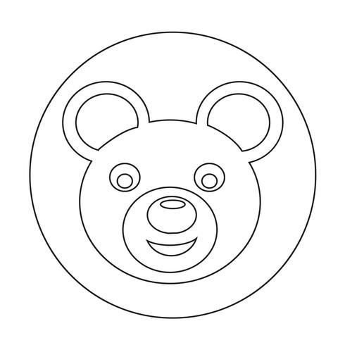 Björnikon vektor