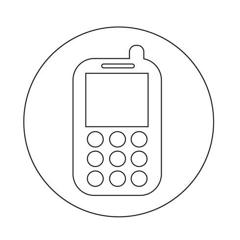 Handy-Symbol vektor