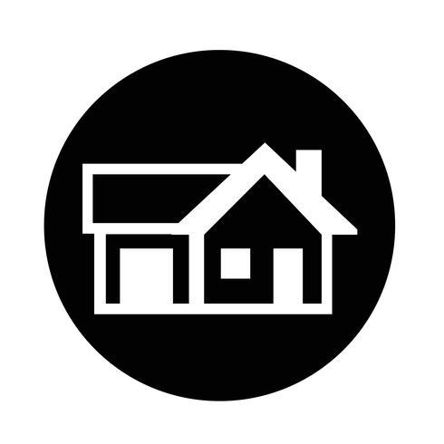 Immobilien Haussymbol vektor