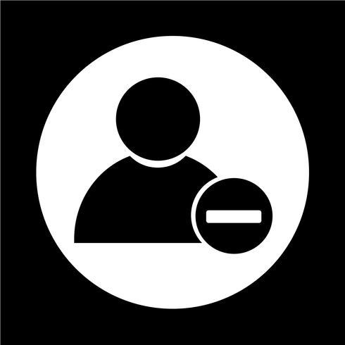 Personensymbol vektor