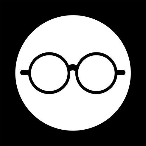 Brillen-Symbol vektor