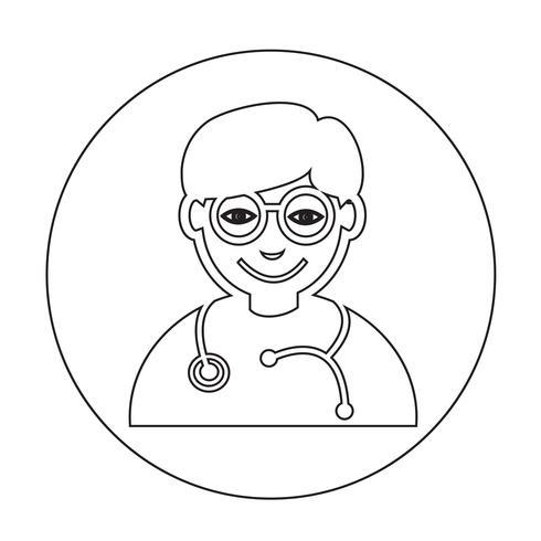 Arzt-Symbol vektor
