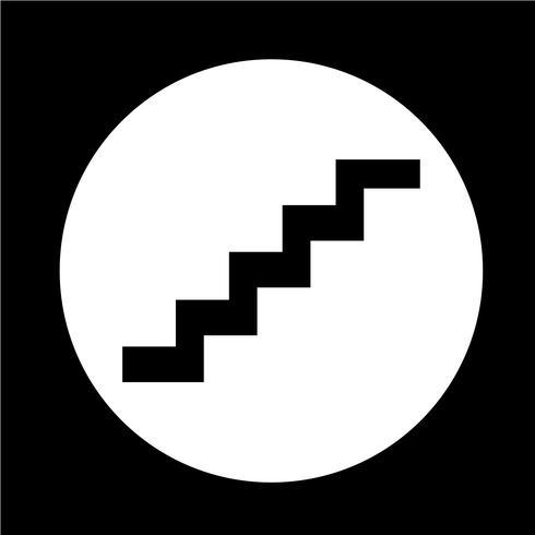 trapp ikon vektor