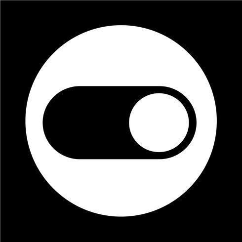 Kippschaltersymbol vektor