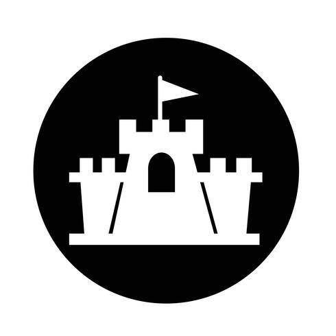 Schloss-Symbol vektor
